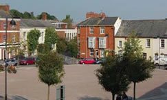 Photograph of Crediton Market Square