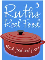 Logo for Ruth's Real Food
