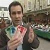 Photograph of Tim Muffett holding Stroud local currency