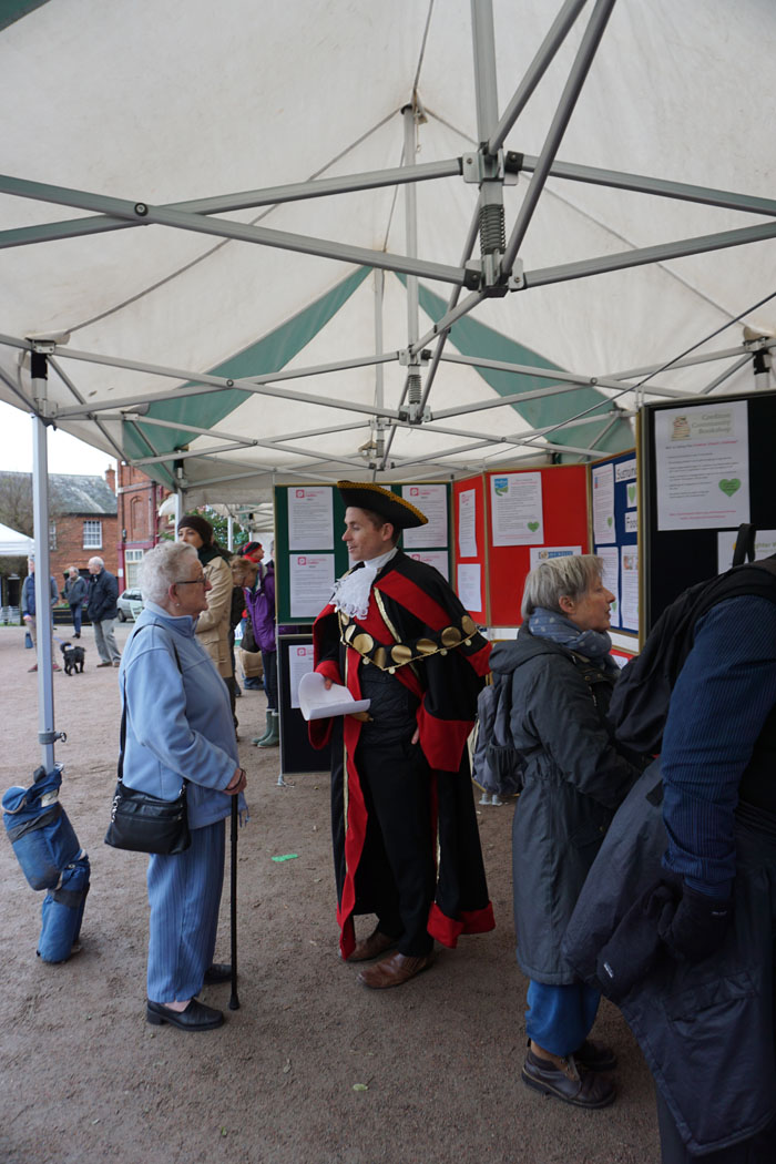 Photograph of the Town Crier